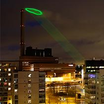 Nuage Vert (Green Cloud) : HeHe (Helen Evans & Heiko Hansen).