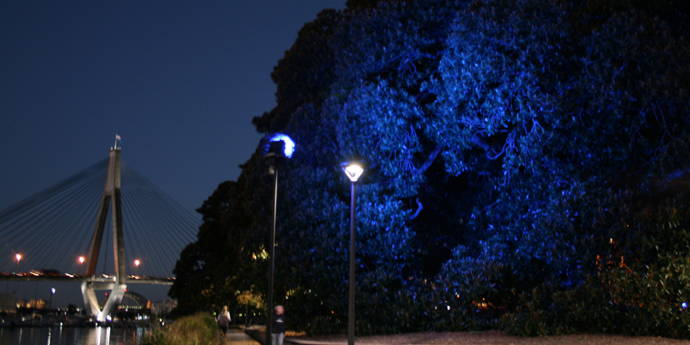 Allan Giddy, Earth V Sky, 2006-12. Bicentennial Park, Sydney, Australia. Image courtesy of the artist.