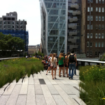 High Line Art : Participating artists include Sarah Sze, Alison Knowles and Spencer Finch
