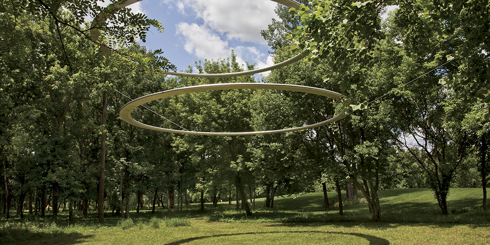 Type A, Team Building (Align), 2010. Commissioned by the Indianapolis Museum of Art. Image courtesy of the artists and Robert Goff Gallery, New York.